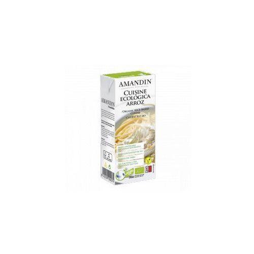 Sos roślinny z ryżu (śmietanka) bio 200 ml amandin marki Natumi