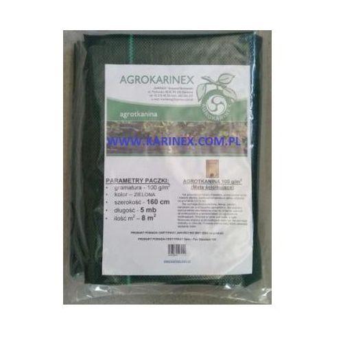 Agrotkanina zielona 100 g/m2, 1,6 x 5 mb. Paczka z kategorii folie i agrowłókniny