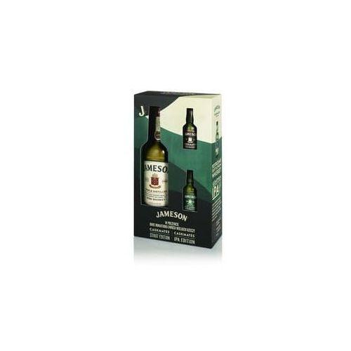 Whisky jameson 0,7l z 2 miniaturkami pudełko prezentowe marki John jameson & son