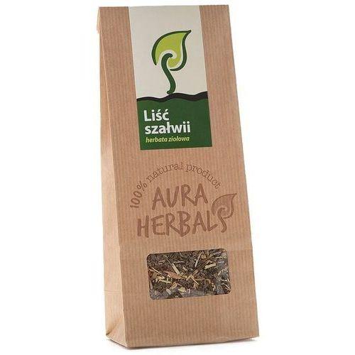 Liść szałwi herbata ziołowa 100g AURA HERBALS