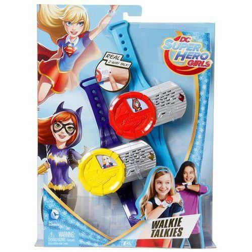 Mattel Dc super hero walkie-talkie superbohaterek (0887961297836)
