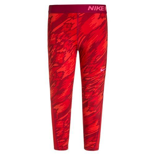 Nike Performance G NIKE PRO DRY Legginsy light crimson/university red/noble red/hyper pink ze sklepu Zalando.pl