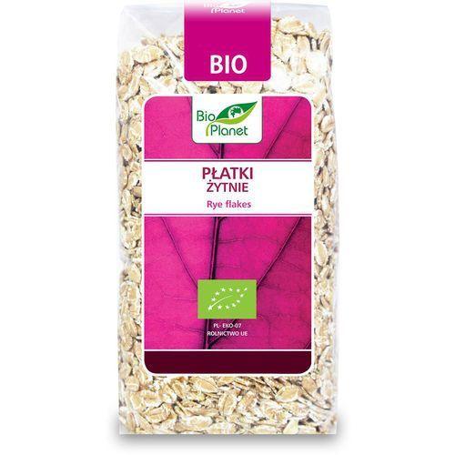 : płatki żytnie bio - 300 g marki Bio planet