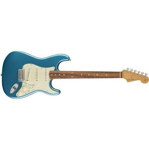Fender classic series ′60s stratocaster pau ferro fingerboard, lake placid blue gitara elektryczna