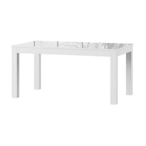 WENUS biały stół prostokątny wysoki połysk - rozkładany do 300 cm