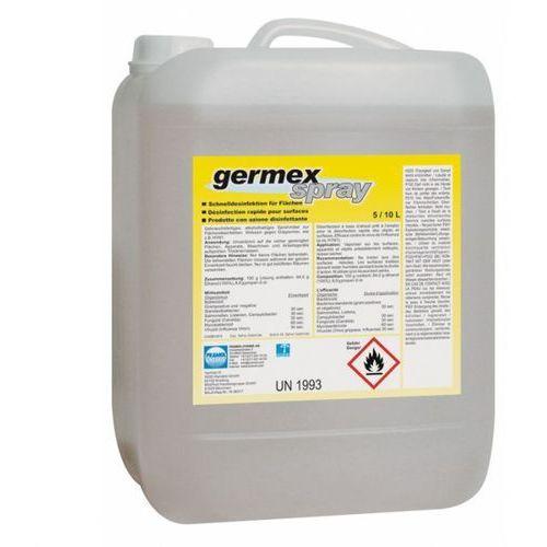 Germex spray - alkoholowy preparat do dezynfekcji powierzchni marki Pramol