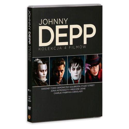 Tim burton Johnny depp kolekcja (4dvd) (płyta dvd) (7321909340541)