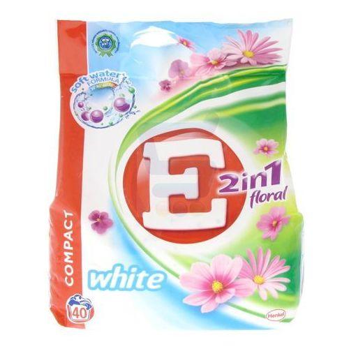 E Proszek do prania 2 w 1 Floral do białego 3 kg (proszek do prania ubrań) od Super Koszyk