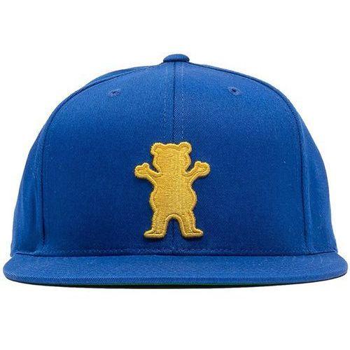 Czapka z daszkiem - og bear snapback blue/orange (blor) rozmiar: os marki Grizzly
