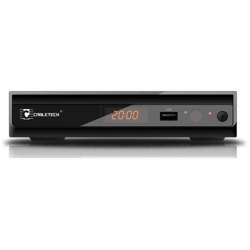 CABLETECH URZ0083Q DVB-T MPEG-4 HD czarny z kategorii Pozostałe telewizory i akcesoria