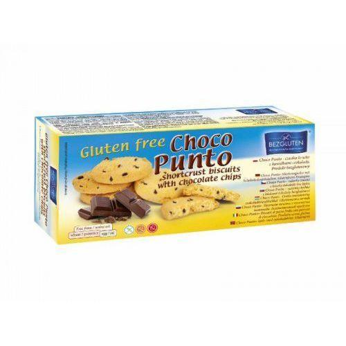 Ciastka kruche z kawałkami czekolady Choco Punto bezglutenowe 130g BEZGLUTEN (5906720573716)