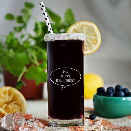 Potrafisz tańczyć - grawerowana szklanka do drinków - szklanka marki Mygiftdna