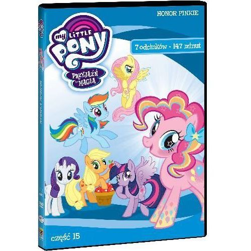 My little pony: przyjaźń to magia. część 15 (dvd) - darmowa dostawa kiosk ruchu marki Różni