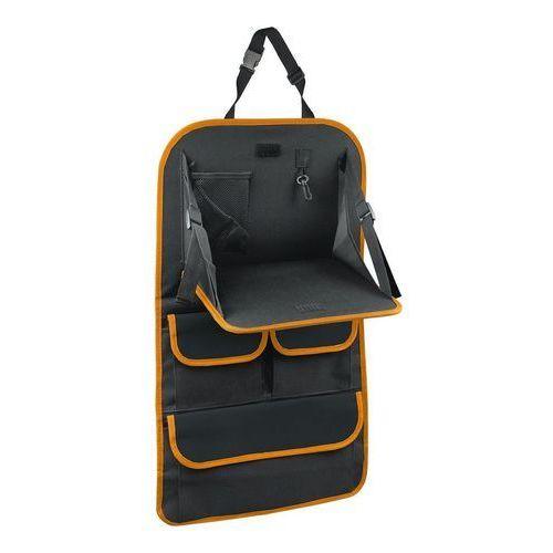 Organizer z stolikiem na przedni fotel samochodowy orange, 40,5 x 69,5 cm marki 4home