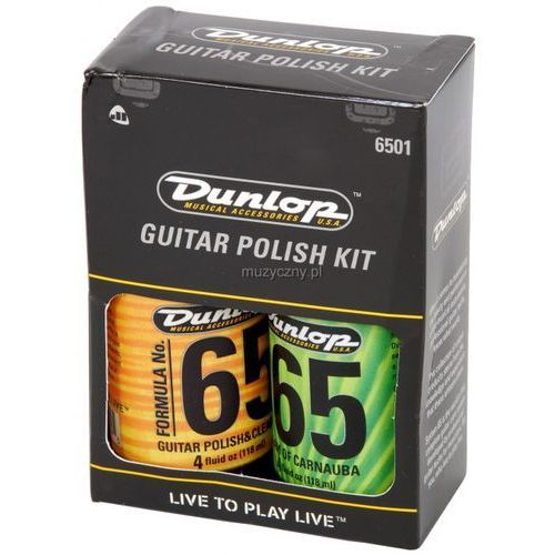 Dunlop 6501 guitar polish kit zestaw do gitary