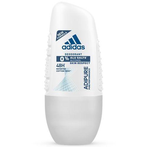 Adidas AdiPure Women 50 ml DEO ROLL-ON - Adidas AdiPure Women 50 ml DEO ROLL-ON