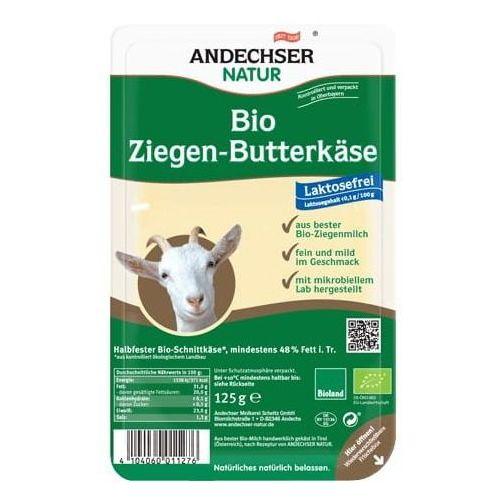 Ser kozi w plastrach 48% BIO 125 g Andechser Natur (4104060011276)