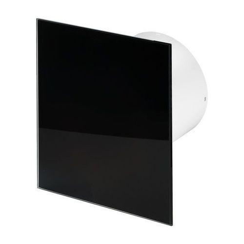 Cichy wentylator łazienkowy Awenta Silent - Standard - czarny połysk