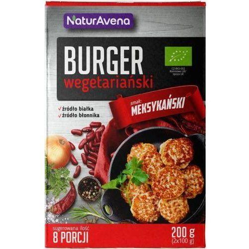 Naturavena Burgery wegetariańskie meksykańskie w proszku 200g - - 200g (5902367408367)