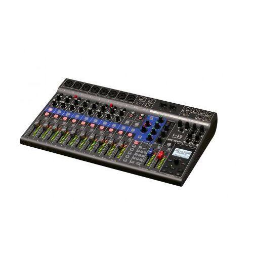ZooM LiveTrack L-12, interfejs audio, mixer, rejestrator