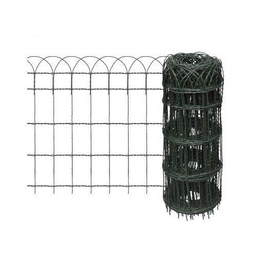 Rozwijane ogrodzenie trawnikowe 25 x 0,65 m - oferta [35addd48331f17ec]