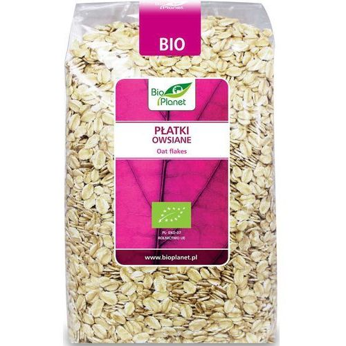 Bio Planet: płatki owsiane BIO - 600 g (5907814664969)