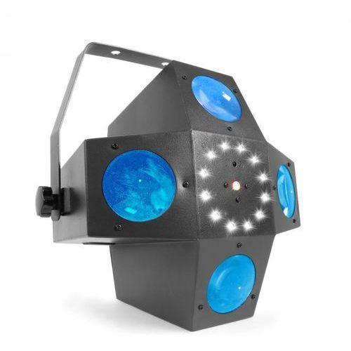 Multitrix Projektor LED 20 diod LED RGBWA 1 W tryb DMX lub standalone