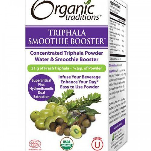Organic traditions Triphala smoothie ekstrakt (33 g) organics traditions