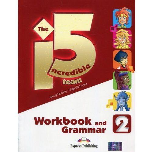 Incredible 5 TEAM 2 WB-Grammar EXPRESS PUBLISHING, oprawa miękka