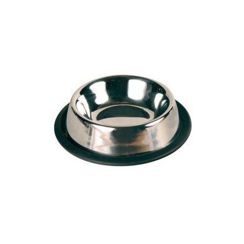 Trixie  miska metalowa dla kota lub małego psa 200ml/11cm