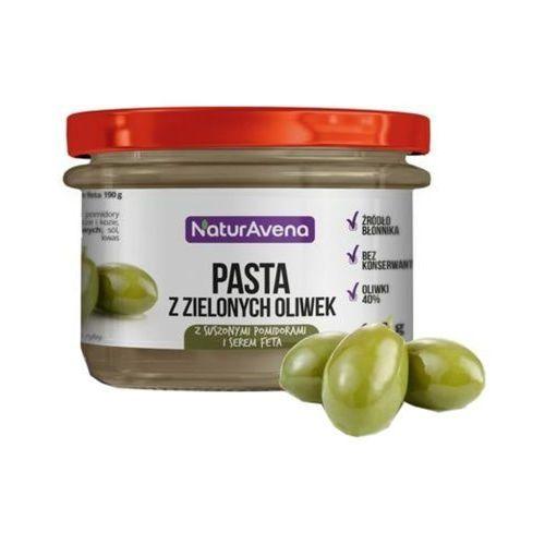 Naturavena 185g pasta z zielonych oliwek z pomidorami i serem feta