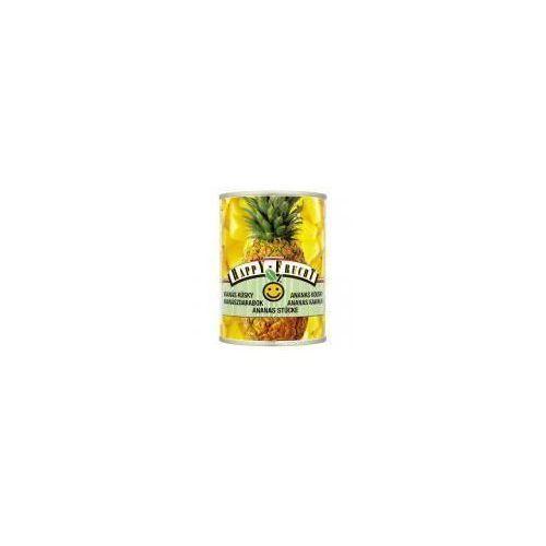 Ananas kawałki Happy Frucht 565 g (9001466301749)