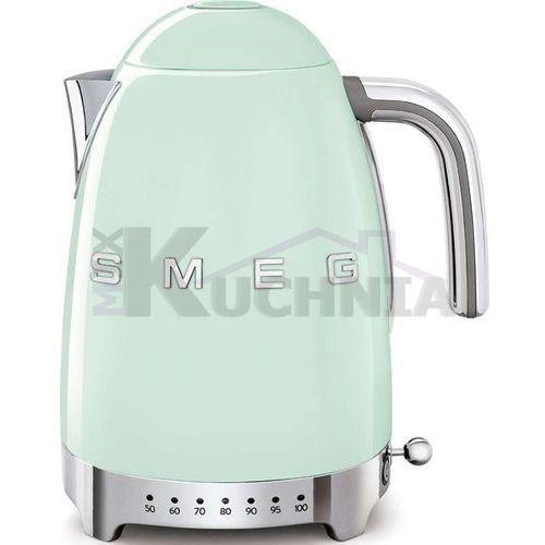 Czajnik elektryczny klf04pgeu pastelowa zieleń z regulacją temperatury marki Smeg