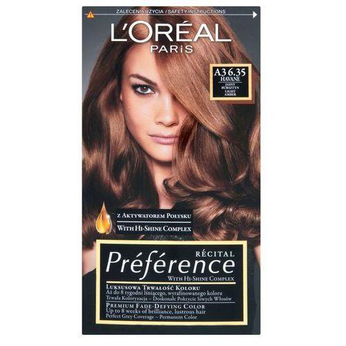 Recital Preference farba do włosów nr 6,35 A3 Havane - L'Oreal Paris DARMOWA DOSTAWA KIOSK RUCHU
