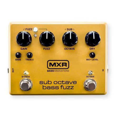 m287 - sub octave bass fuzz efekt do gitary basowej marki Mxr