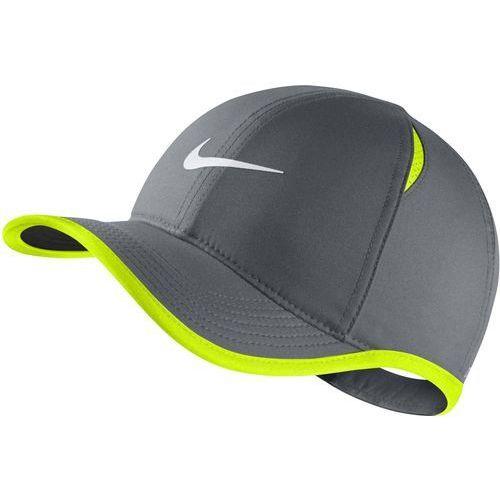 Nike czapka dziecięca y nk arobill fthrlt cap cool grey volt white