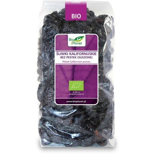 Bio planet : śliwki kalifornijskie bez pestek bio - 1 kg (5907814669803)