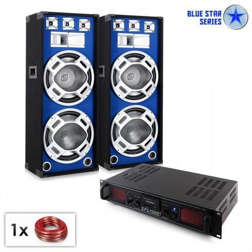 "PA Zestaw Blue Star seria ""Beatsound Bluetooth MP3"" 1500W"