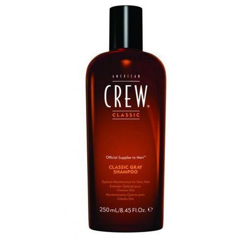American crew classic gray - szampon do włosów siwych 250ml