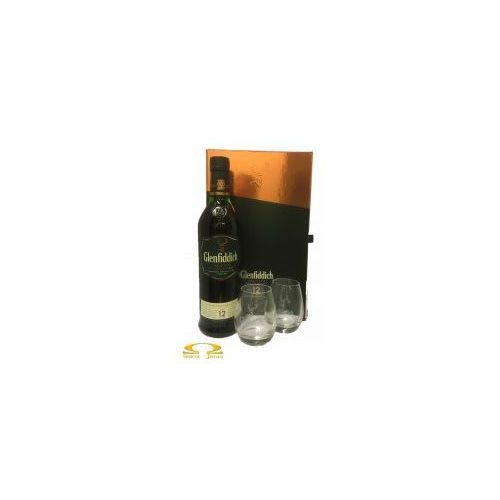 William grant & sons Whisky glenfiddich 12yo 0,7l + dwie szklanki
