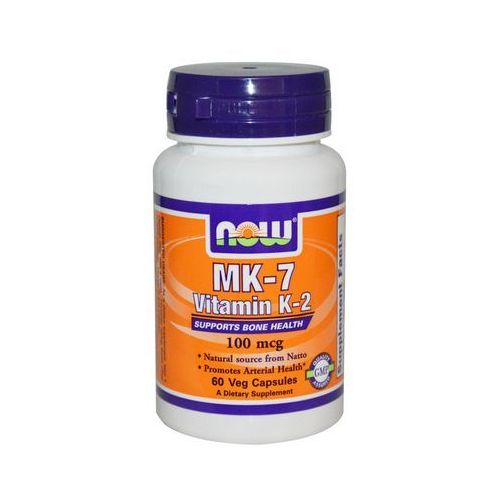 Now foods, usa Now foods witamina k2 mk-7 100mcg 60 kaps.
