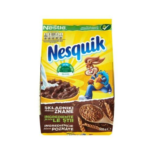500g nesquik płatki śniadaniowe marki Nestle