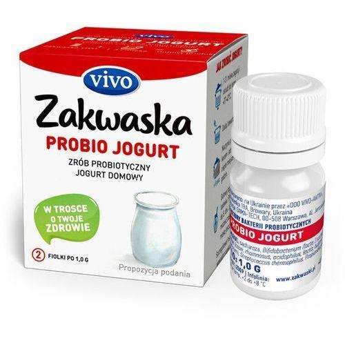 Zakwaski vivo (żywe kultury bakterii) Jogurt domowy streptosan żywe kultury bakterii probiotyk opakowanie 2 x 0,5g zakwaski vivo (4820148053906)
