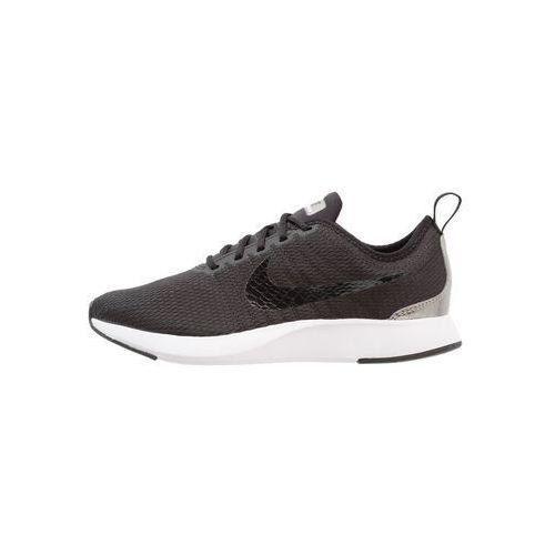 Nike Sportswear DUALTONE RACER (GS) Tenisówki i Trampki black/metallic pewter, 917648
