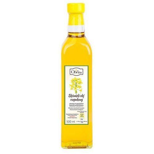 Ślężański olej rzepakowy, 500ml