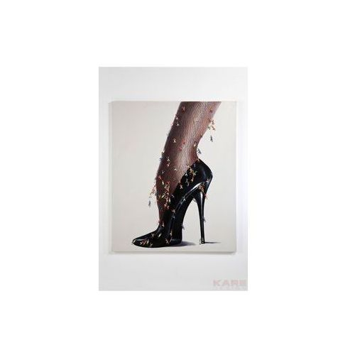 Kare Design Pop Art & Fun Rebellion Stiletto 170x140cm Obraz (33054) (obraz)