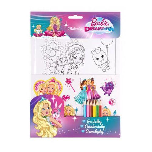 Barbie Dreamtopia set - fialová, pastelky neuveden
