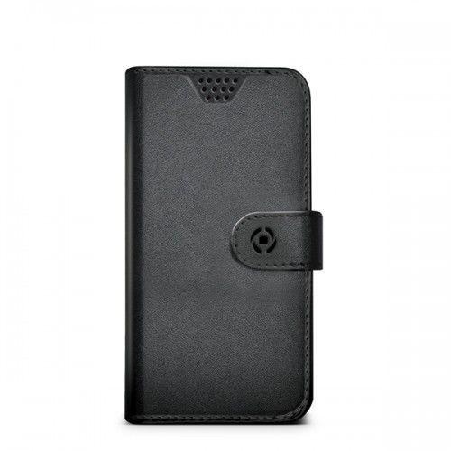Celly wallet case wally xl uniwersalny - black