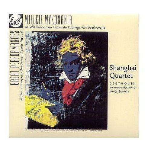 Beethoven:kwartety smyczkowe - shanghai quartet (płyta cd) marki Empik.com