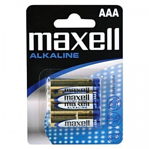 Maxell Bateria AAA Blister 4 sztuki (723671.04 EU) Darmowy odbiór w 20 miastach! (4902580164010)
